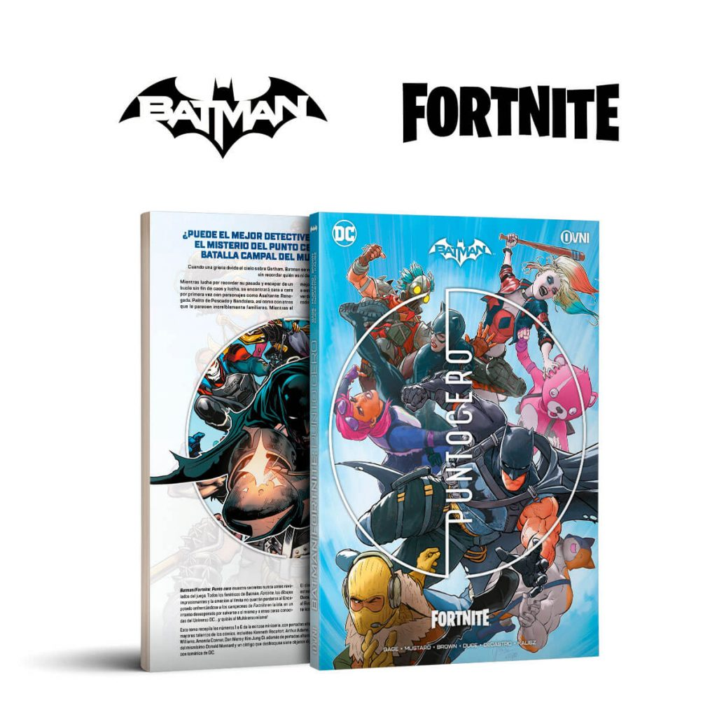 Batman Fortnite comic book